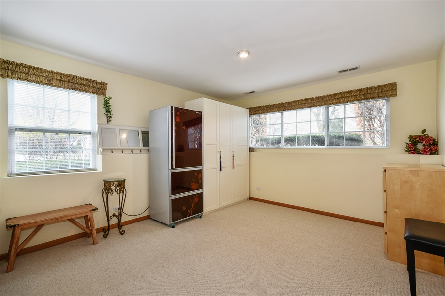 Real Estate Photography - 751 Pheasant Trail, Unit 751, St. Charles, IL, 60174 - Family Room