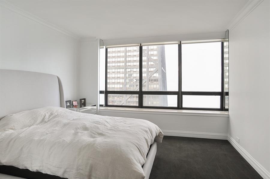 Real Estate Photography - 180 E Pearson, Unit 5501, Chicago, IL, 60611 - 2nd Bedroom