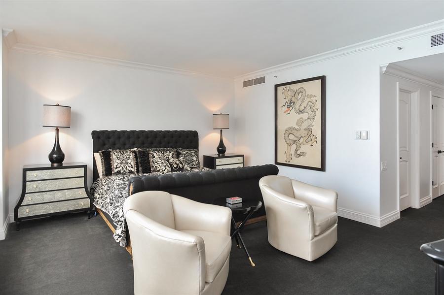 Real Estate Photography - 180 E Pearson, Unit 5501, Chicago, IL, 60611 - Master Bedroom