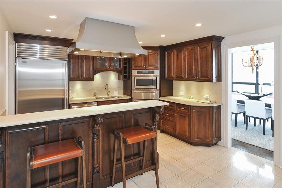 Real Estate Photography - 180 E Pearson, Unit 5501, Chicago, IL, 60611 - Kitchen