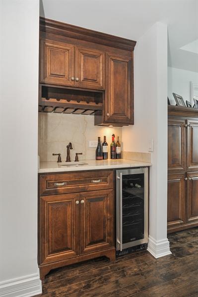 Real Estate Photography - 180 E Pearson, Unit 5501, Chicago, IL, 60611 - Family Room Bar