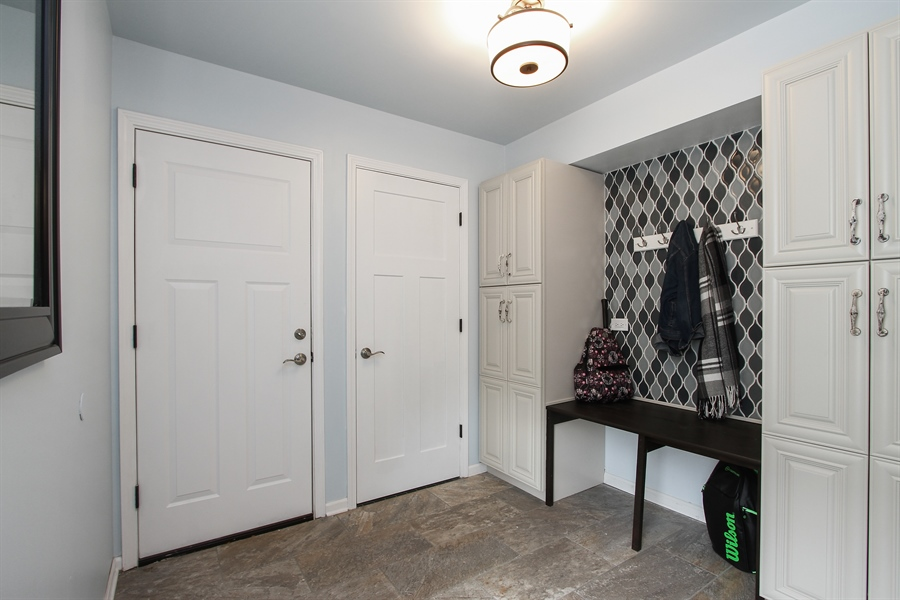 Real Estate Photography - 5 Bent Tree Court, Hawthorn Woods, IL, 60047 - Mudroom