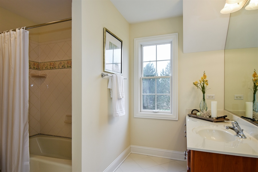 Real Estate Photography - 28413 W. Harvest Glen Circle, Cary, IL, 60013 - 3rd Bathroom