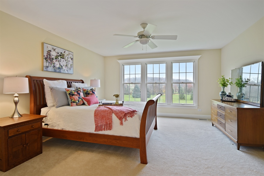 Real Estate Photography - 28413 W. Harvest Glen Circle, Cary, IL, 60013 - Master Bedroom