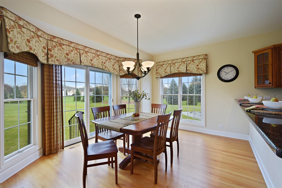 Real Estate Photography - 28413 W. Harvest Glen Circle, Cary, IL, 60013 - Breakfast Area