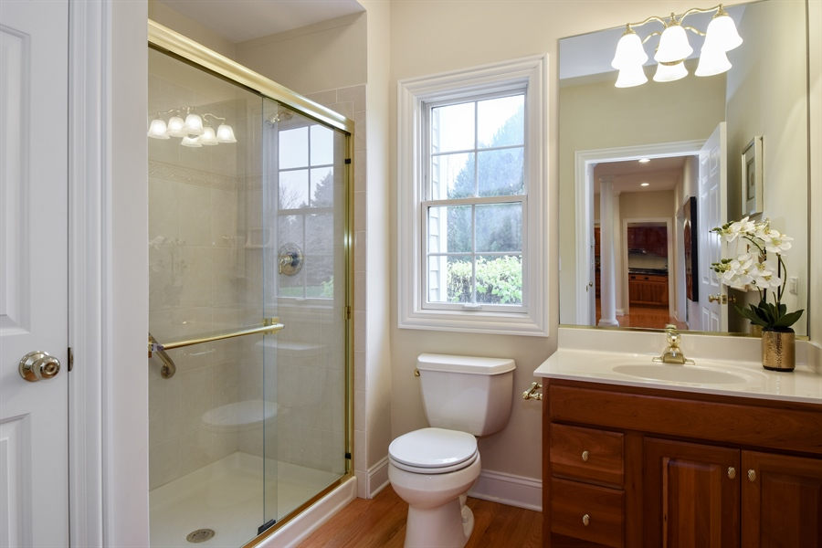 Real Estate Photography - 28413 W. Harvest Glen Circle, Cary, IL, 60013 - Bathroom