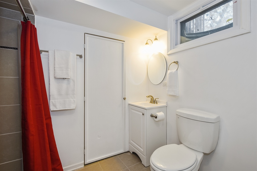 Real Estate Photography - 26363 N. Walnut Avenue, Mundelein, IL, 60060 - 3rd Bathroom