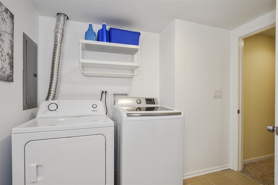 Real Estate Photography - 26363 N. Walnut Avenue, Mundelein, IL, 60060 - Laundry Room