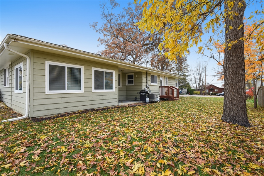 Real Estate Photography - 26363 N. Walnut Avenue, Mundelein, IL, 60060 - Rear View