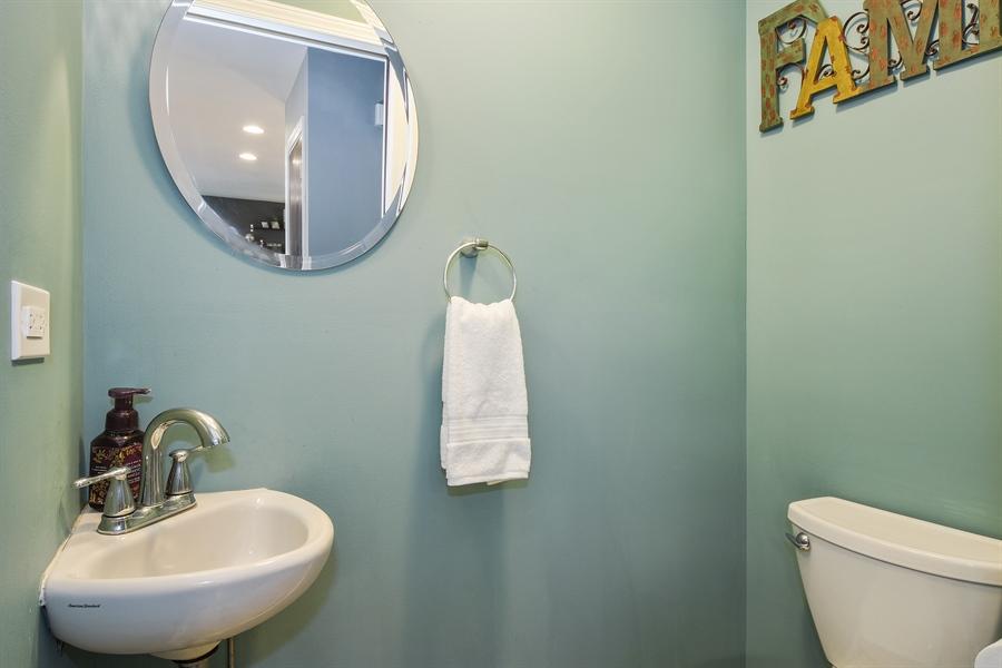 Real Estate Photography - 26363 N. Walnut Avenue, Mundelein, IL, 60060 - Half Bath