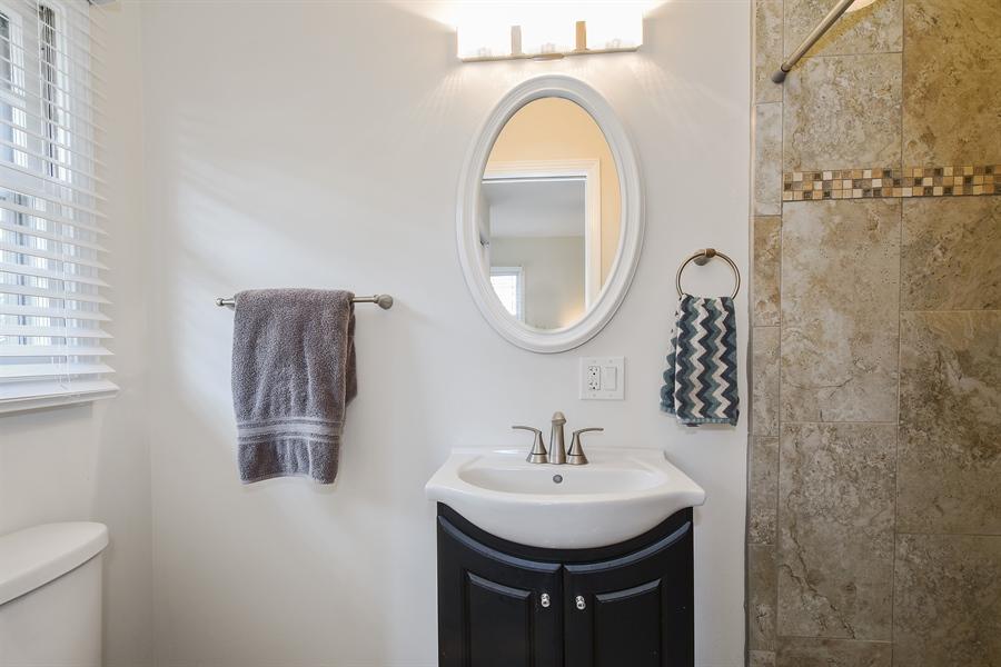 Real Estate Photography - 26363 N. Walnut Avenue, Mundelein, IL, 60060 - 2nd Bathroom