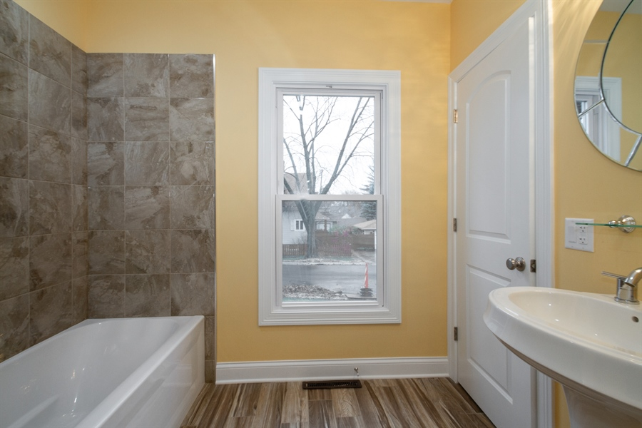 Real Estate Photography - 403 W South Street, Woodstock, IL, 60098 - Bathroom