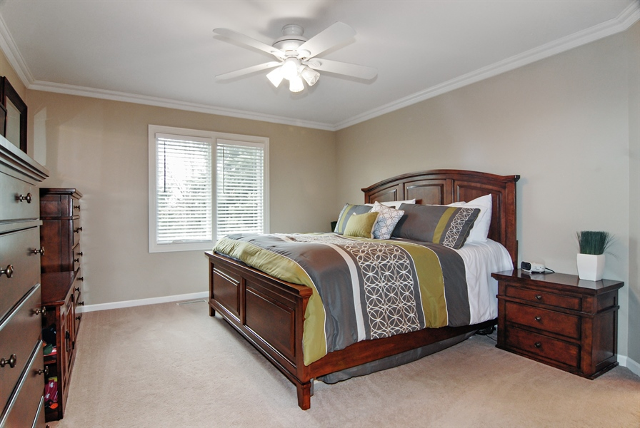 Real Estate Photography - 961 Waterside Court, Aurora, IL, 60502 - Master Bedroom