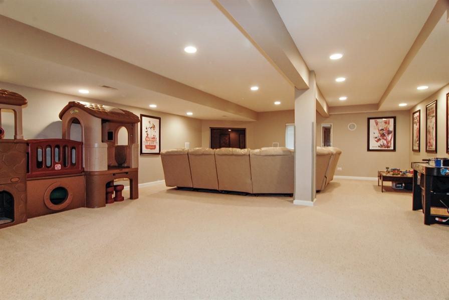 Real Estate Photography - 961 Waterside Court, Aurora, IL, 60502 - Basement