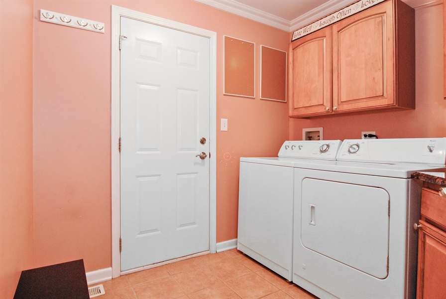 Real Estate Photography - 961 Waterside Court, Aurora, IL, 60502 - Laundry Room