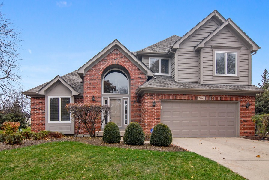 Real Estate Photography - 961 Waterside Court, Aurora, IL, 60502 - Front View