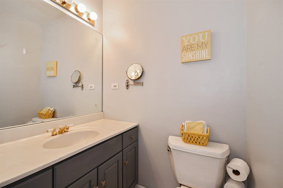 Real Estate Photography - 307 Woodward Ave, Geneva, IL, 60134 - Master Bathroom