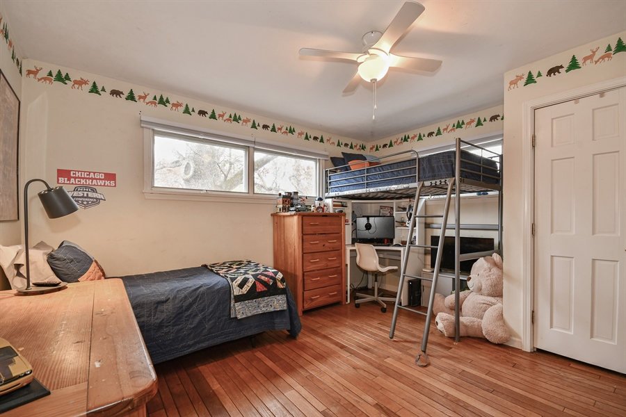 Real Estate Photography - 307 Woodward Ave, Geneva, IL, 60134 - 2nd Bedroom