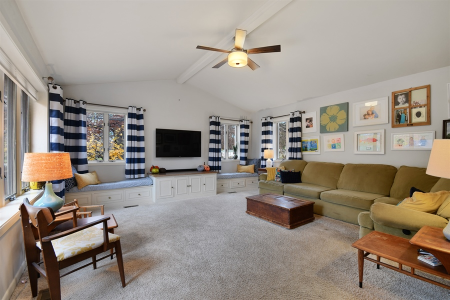 Real Estate Photography - 307 Woodward Ave, Geneva, IL, 60134 - Family Room