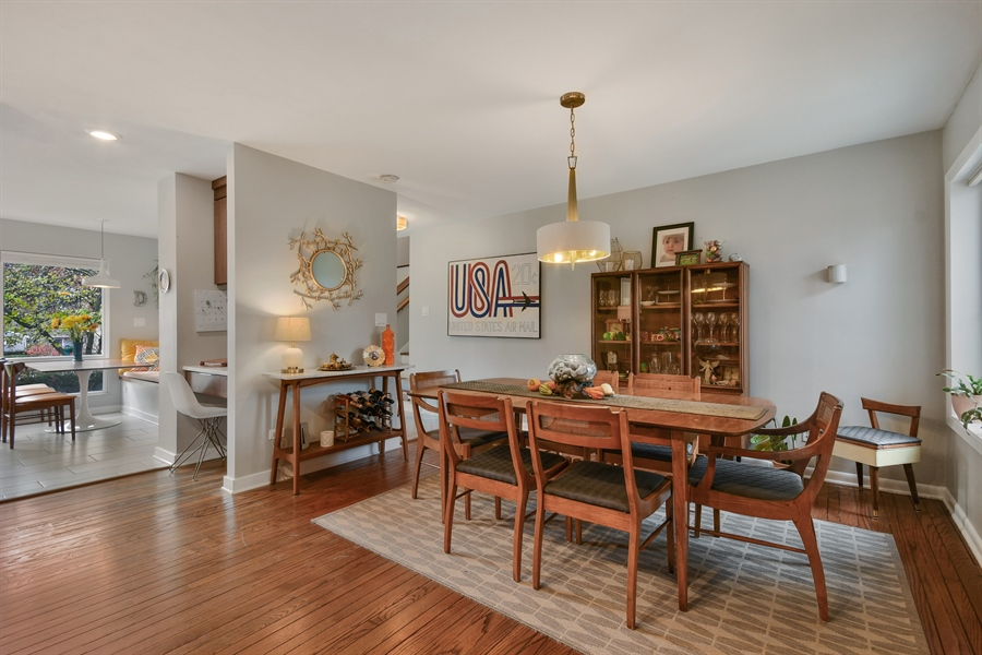 Real Estate Photography - 307 Woodward Ave, Geneva, IL, 60134 - Dining Area
