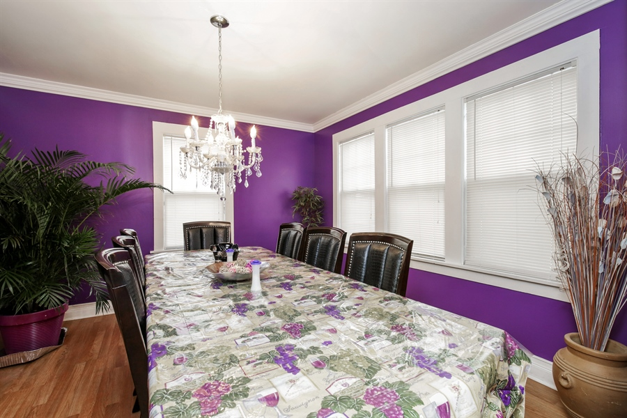 Real Estate Photography - 644 PALACE Street, Aurora, IL, 60506 - Dining Room