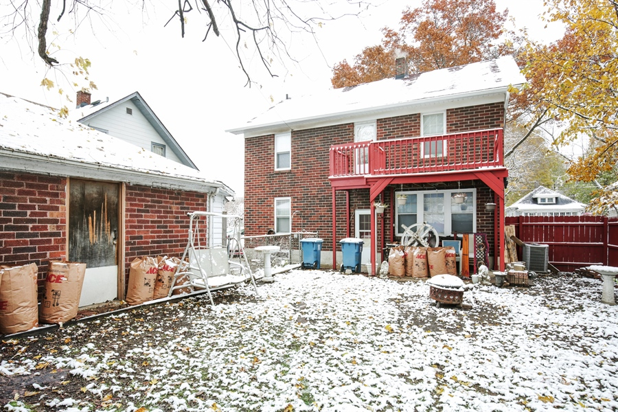 Real Estate Photography - 644 PALACE Street, Aurora, IL, 60506 - Rear View