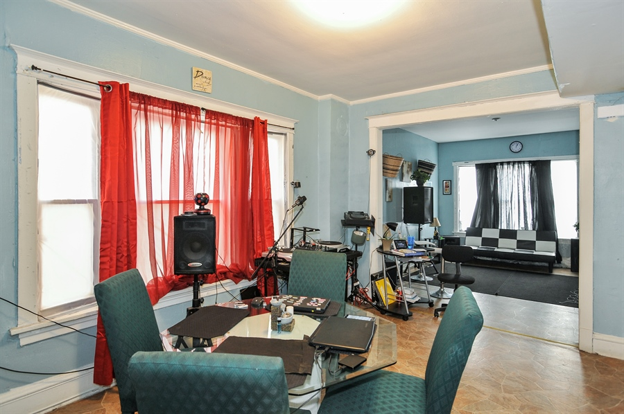 Real Estate Photography - 5301 West Chicago Ave, Chicago, IL, 60651 - Dining room apartment 3