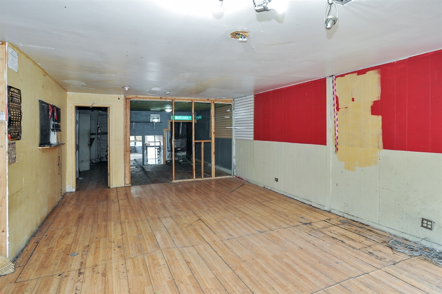 Real Estate Photography - 5301 West Chicago Ave, Chicago, IL, 60651 - Vacant commercial space 2