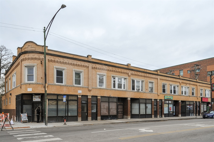 Real Estate Photography - 5301 West Chicago Ave, Chicago, IL, 60651 - Front View