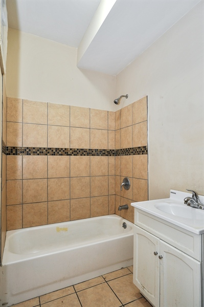 Real Estate Photography - 5301 West Chicago Ave, Chicago, IL, 60651 - Bathroom