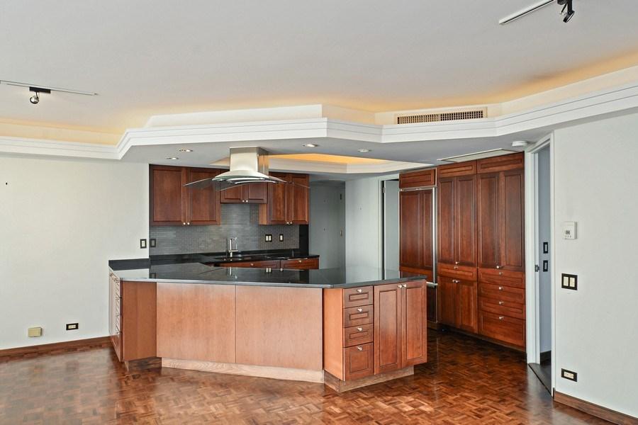 Real Estate Photography - 260 E. Chestnut Street, Unit 1412, Chicago, IL, 60611 - Kitchen