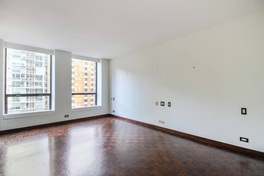 Real Estate Photography - 260 E. Chestnut Street, Unit 1412, Chicago, IL, 60611 - Master Bedroom