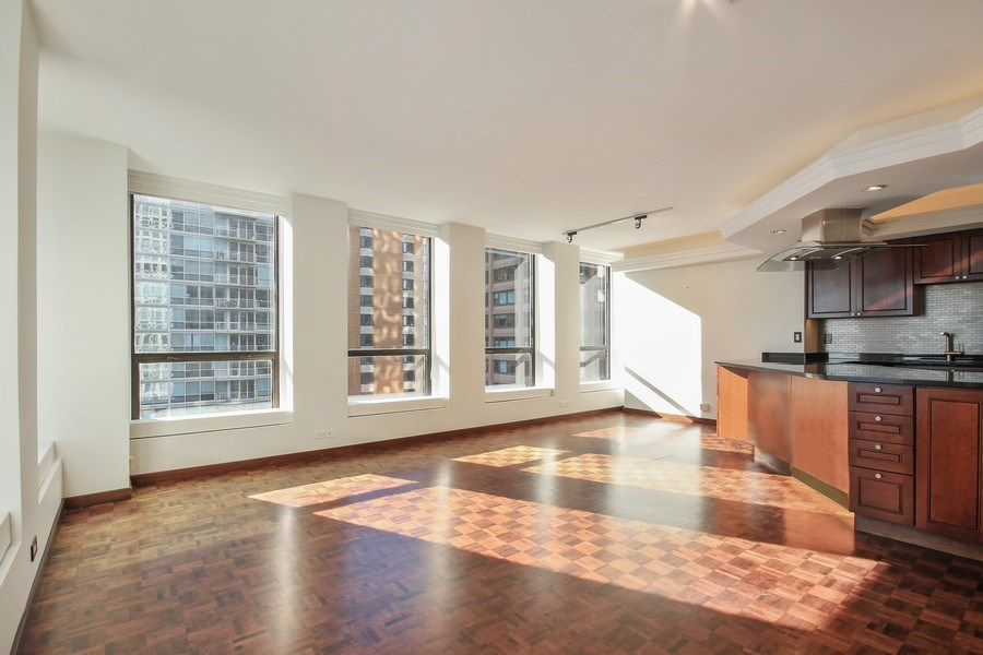 Real Estate Photography - 260 E. Chestnut Street, Unit 1412, Chicago, IL, 60611 - Dining Room