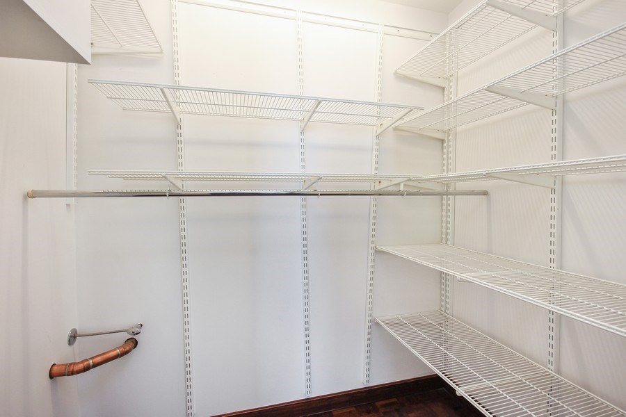 Real Estate Photography - 260 E. Chestnut Street, Unit 1412, Chicago, IL, 60611 - 2nd Bedroom Closet