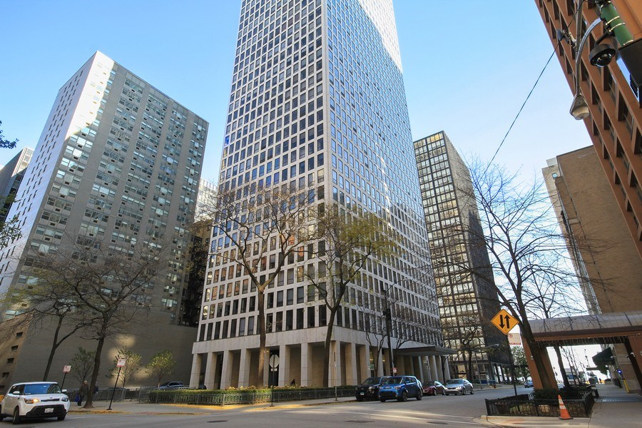 Real Estate Photography - 260 E. Chestnut Street, Unit 1412, Chicago, IL, 60611 - Front View