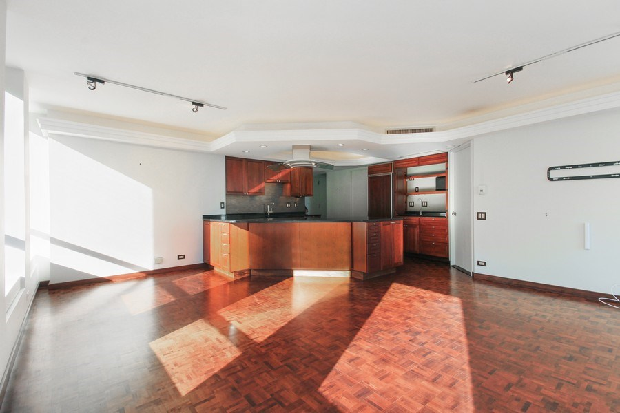 Real Estate Photography - 260 E. Chestnut Street, Unit 1412, Chicago, IL, 60611 - Kitchen / Dining Room