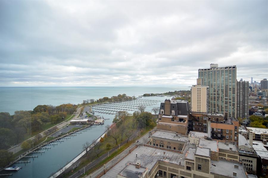 Real Estate Photography - 3550 N. Lake Shore Drive, Unit 2706, Chicago, IL, 60657 - Lake View