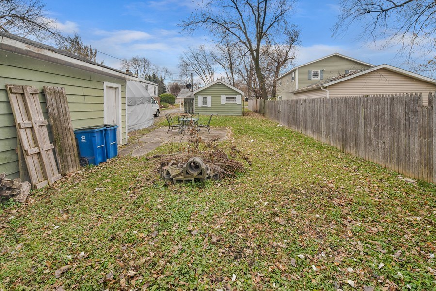 Real Estate Photography - 1034 Norfolk Street, Downers Grove, IL, 60516 - Rear View