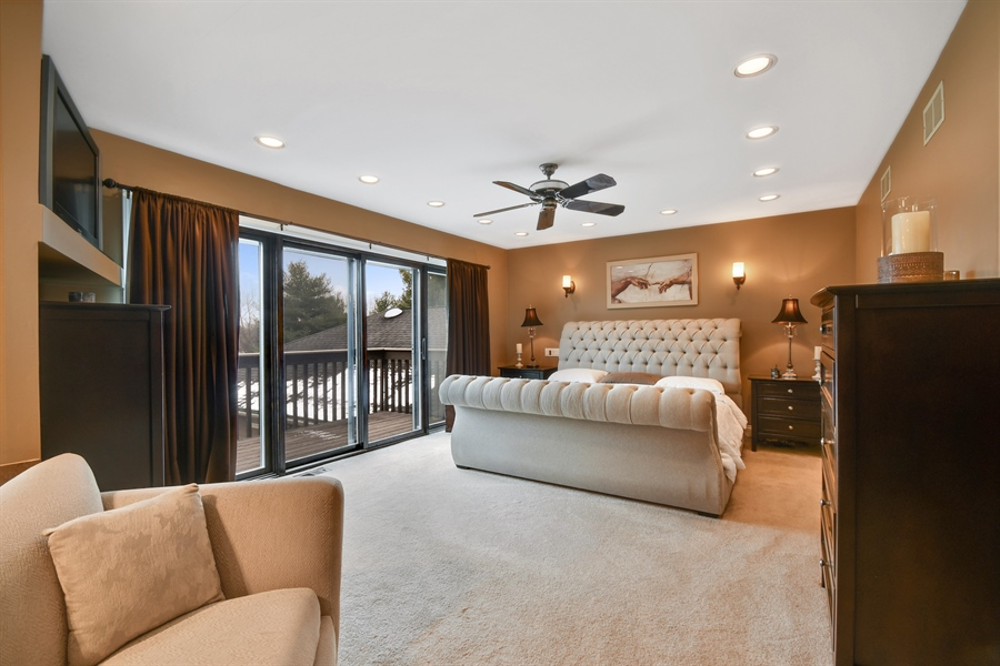 Real Estate Photography - 5N737 Dunham Trails Road, Wayne, IL, 60184 - Master Bedroom