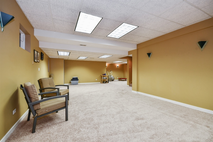 Real Estate Photography - 5N737 Dunham Trails Road, Wayne, IL, 60184 - Main House Finished Basement