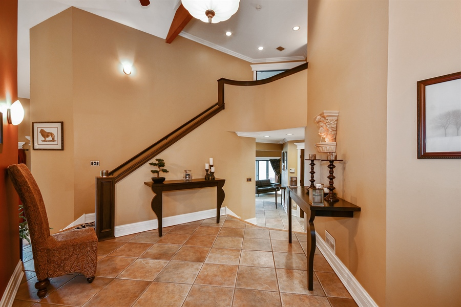 Real Estate Photography - 5N737 Dunham Trails Road, Wayne, IL, 60184 - Foyer