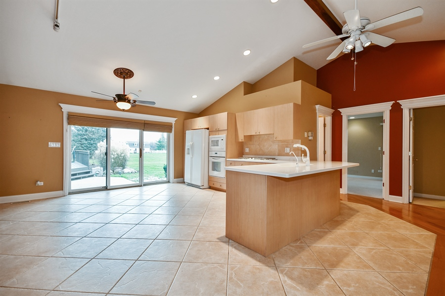 Real Estate Photography - 5N737 Dunham Trails Road, Wayne, IL, 60184 - In-Law Suite Kitchen