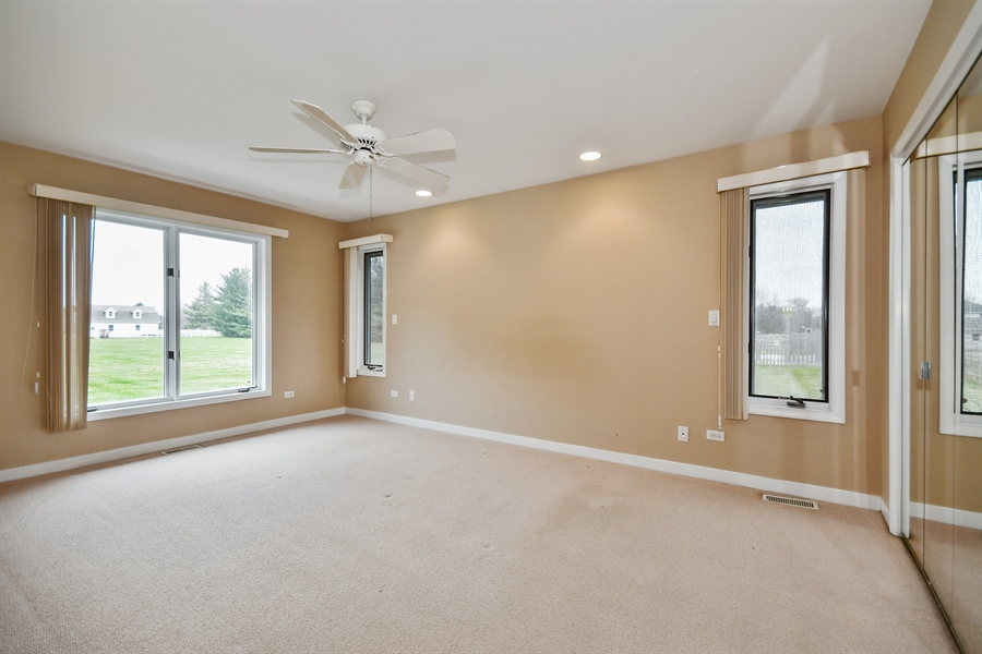 Real Estate Photography - 5N737 Dunham Trails Road, Wayne, IL, 60184 - In-Law Suite Master Bedroom