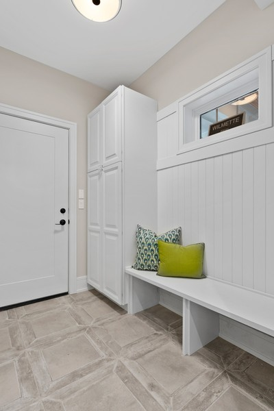 Real Estate Photography - 918 Yale Street, Wilmette, IL, 60091 - Mudroom
