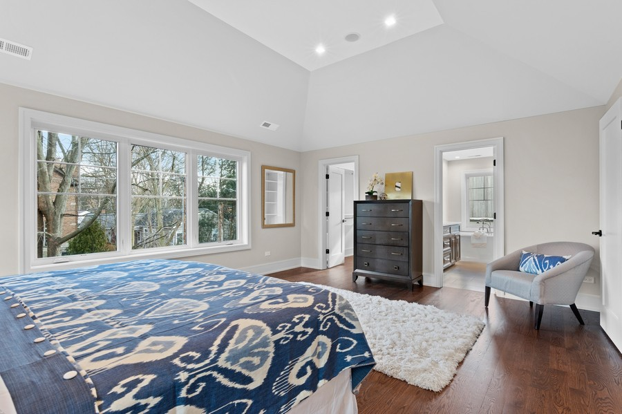 Real Estate Photography - 918 Yale Street, Wilmette, IL, 60091 - Master Bedroom