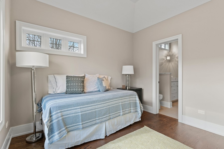 Real Estate Photography - 918 Yale Street, Wilmette, IL, 60091 - Bedroom #3