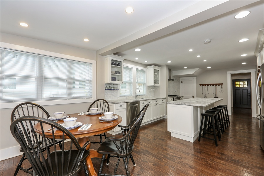 Real Estate Photography - 21 S. Columbia Street, Naperville, IL, 60540 - Kitchen / Breakfast Room