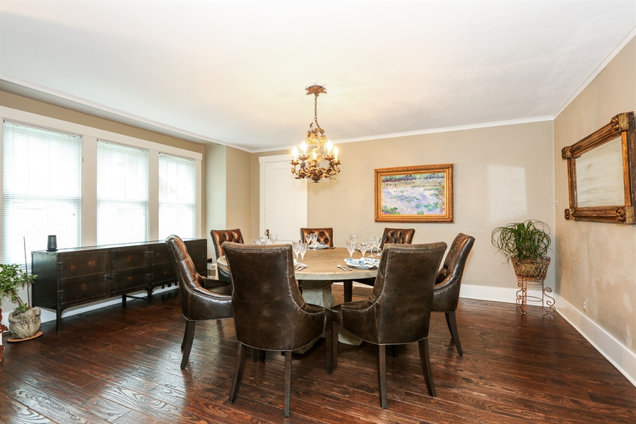 Real Estate Photography - 21 S. Columbia Street, Naperville, IL, 60540 - Dining Room