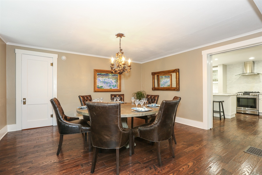 Real Estate Photography - 21 S. Columbia Street, Naperville, IL, 60540 - Dining Area