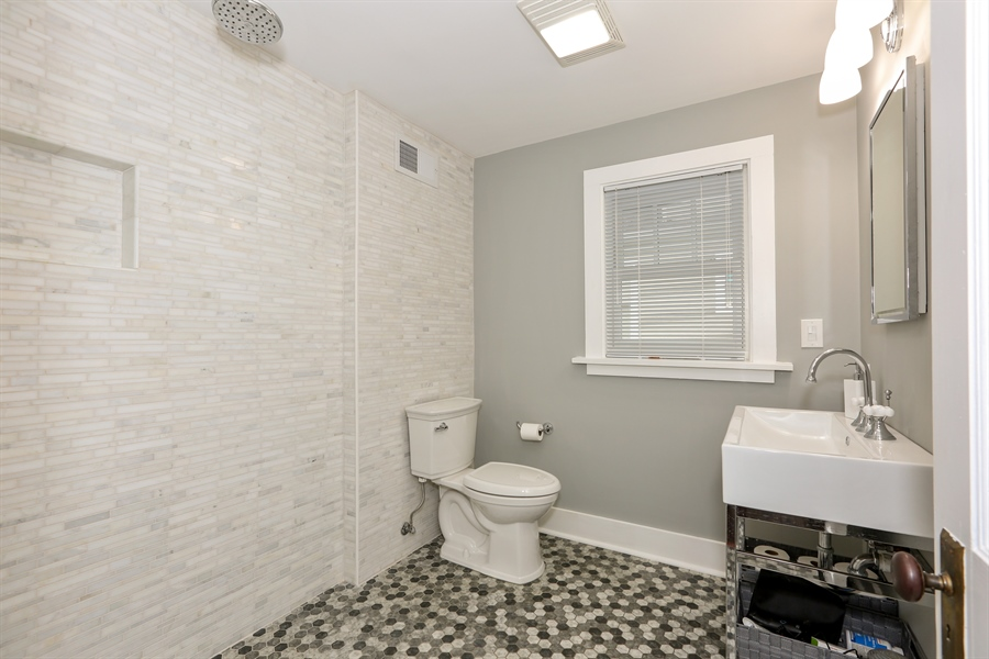 Real Estate Photography - 21 S. Columbia Street, Naperville, IL, 60540 - Bathroom